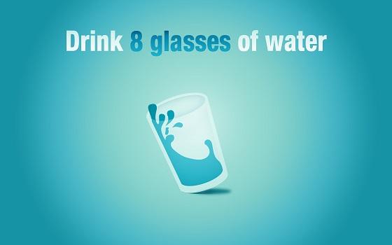 إشرب المزيد من المياه